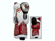 Le DeBrekht hand crafted Christmas keepsake - On The Go Santa - #Dbkt-21110