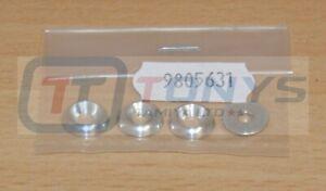 Tamiya 9805631/19805631 3mm Rosette Washer (4Pcs) TG10/Avante/Egress/DF03, NIP