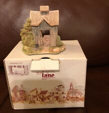 Vintage Lilliput Lane American Landmarks See Rock City Signed Figurine w/ Box