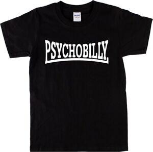 Psychobilly T-Shirt - Rockabilly, Rock'n'Roll, Punk, Various Colours, S-XXL