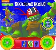 Teenage Ninja Turtles: Skateboard Heroes! (2014, Board Book)