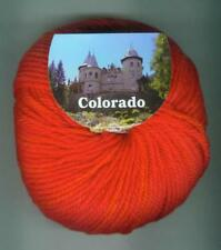 50g COLORADO BC GARN 100% Schurwolle superwash Merino Strickwolle Wolle Fb. 25