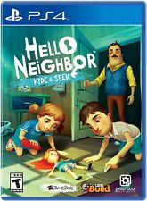 PLAYSTATION 4 PS4 VIDEO GAME HELLO NEIGHBOR HIDE AND SEEK BRAND NEW AND SEALED