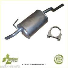 Renault Clio 1.2 Hatchback 98-06 Exhaust Rear Back Silencer box + Clamp