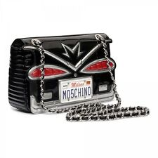 $2295 MOSCHINO Couture Jeremy Scott 50's Cadillac License Plate Crossbody Bag