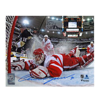 CHRIS OSGOOD signed Detroit Red Wings 8x10 Photo – 70340