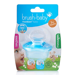 Brush Baby FrontEase Teether for Babies - Blue