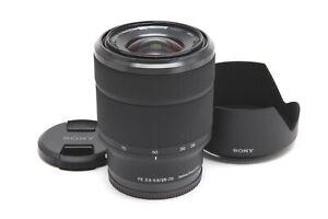 Near Mint Sony FE 28-70mm f3.5-5.6 OSS Lens with Hood #33371
