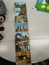 10 retro postcard size views of Tunis