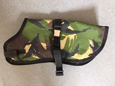 DOGS NEW GREEN CAMOUFLAGE WARM WATERPROOF DOG JACKET COAT 10 inches