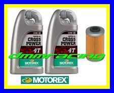 Kit Tagliando KTM 350 LC4 SX Super Comp. 94>95 Filtro MOTOREX Cross Power 10W/60
