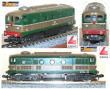 LIMA 320306 LOCOMOTORE D341-1039 FS ITALY DIESEL con MOTORE CENTRALE BOX SCALA-N