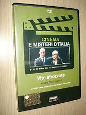 DVD VITE STROZZATE CINEMA E MISTERI D'ITALIA RICKY TOGNAZZI VINCENT LINDON