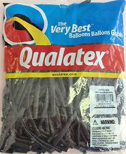 Qualatex Chocolate Brown 260Q Entertainer Balloons ~ 100 ct.