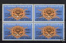 South Africa 1965 SG#261 12.5c Church MNH Block