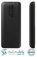 Carcasa Tapa Batería Back Battery Cover Nokia 108 Original 9448541 Negra Black