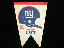 """1970's New York Giants Football Pennant - 11"""" x 8.5"""""""