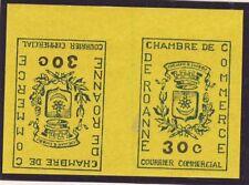 TIMBRE DE GREVE ROANNE N° 14 TETE BECHE DALLAY 225 €