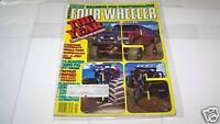 JAN 1987 FOUR WHEELER truck magazine