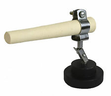 JEWELERS CERAMIC ROD W/ BASE HOLDER SOLDERING MANDREL RING FORMING TOOL STAND