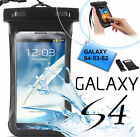 Custodia subacquea impermeabile Galaxy S4,S3,S2.Cover mare,sub + laccio polso