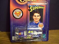 JEFF GORDON SUPERMAN 1/64 NASCAR CAR LTS 5 OF 8 WINNERS CIRCLE w/collector card