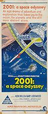 2001 ODISSEA NELLO SPAZIO SPACE ODISSEY LOCANDINA SCIFI FANTASCIENZA KUBRICK