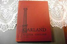 Garland Junior College Boston Massachusetts Yearbook 1955