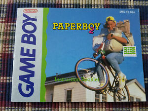 Paperboy 2 - Authentic - Nintendo Game Boy - GB - Manual Only!