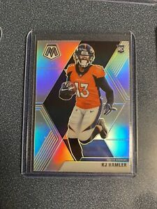 KJ Hamler 2020 Panini Mosaic Silver Prizm NFL Denver Broncos #219 PSA RC Rookie