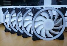 |5 pack | RGB 12 cm PC Case Cooling Fan |  | US Seller | 3 pin & 4 pin molex