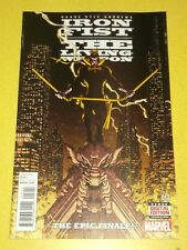 IRON FIST LIVING WEAPON #12 MARVEL COMICS NM (9.4)
