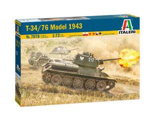 T-34/76 Model 1943 ITALERI 1:72 IT7078