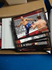 UFC Topps 2010 Series 4 Master Set w/Gold Parallel Set and 5 Inserts Near Mint