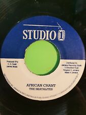 Studio One. African CHANT/ GET OURSELVES TOGETHER THE SKATALITES