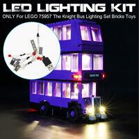 ONLY LED Light Lighting Kit For LEGO 75957 The Knight Bus Lighting Set Toys /|