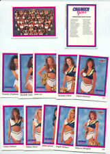 1994 San Diego Chargers Cheerleaders (28) Card Set