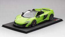 Top Speed McLaren 675LT Spider Mantis Green TS0069 1:18 New Item*NICE CAR!!