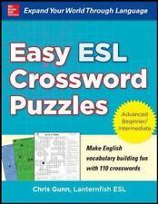 Beginning English Crossword Puzzles by Gunn (2013, Paperback)