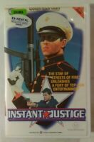 Instant Justice VHS 1987 Action Denis Amar Michael Paré Warner Home Video Large