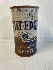 New listing Vtg Gilt Edge Metal Beer Can * Read Listing*
