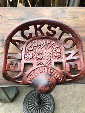 CAST IRON BLACKSTONE STAMFORD & COMPANY LTD TRACTOR SEAT