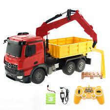links Dickie Spielzeug 203462412 Mega Crane rechts auf Kabel-Fernsteuerung