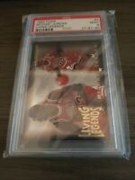 1993 FLEER LIVING LEGENDS #4 MICHAEL JORDAN PSA 9 MINT Chicago Bulls Tough Grade