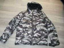 Tommy Hilfiger Mens Camo Hooded Insulated Puffer Jacket...