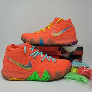 Nike Kyrie 4 Lucky Charms Cereal Size 11 BV0428 600 Bright Crimson