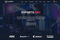 Gaming Clan, Video Tournament - Wordpress Website with Demo Content