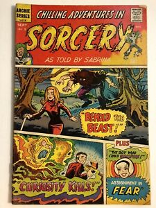 Chilling Adventures in Sorcery as Told by Sabrina #1 Archie Comics 1972 GD+ 2.5
