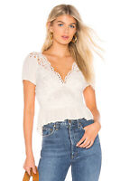 Free People Sweet Roses Crochet Blouse 140$  Size S