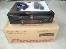 Pioneer PDR-W739 High-End CD-Recorder / 3-fach Wechsler OVP, FB&BDA, 2J.Garantie